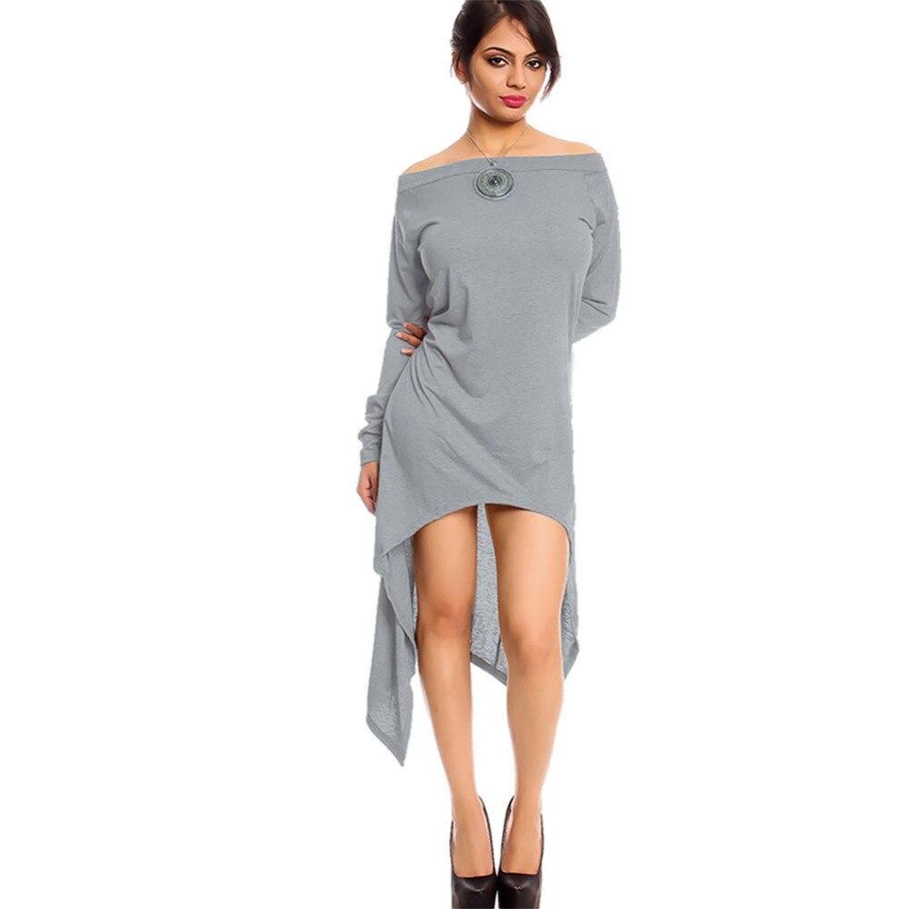 Autumn Summer Long T Shirt Women T-shirt Black Long Sleeve Thin Long Tops Tees Woman Female Irregular T Shirt Plus Size 3XL