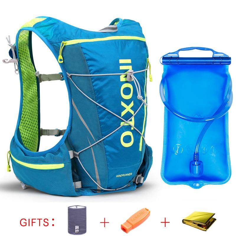 mochila de 10L hombres mujer Running bicicleta chaleco hidratación w8qqx6UX