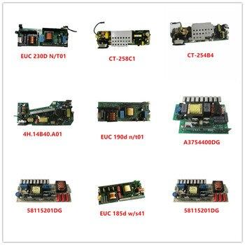 EUC 230D N/T01| CT-258C1/258C| CT-254B4| 4H.14B40.A01| 190D N/T01| EUC 185d W/s41/C01| A3754400DG| CT-321B2| 58115201DG Used