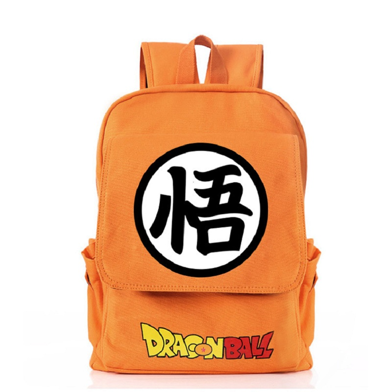 Dragon Ball Z Backpack Son Goku Cartoon Laptop Shoulder Bag Student Bookbag Gift