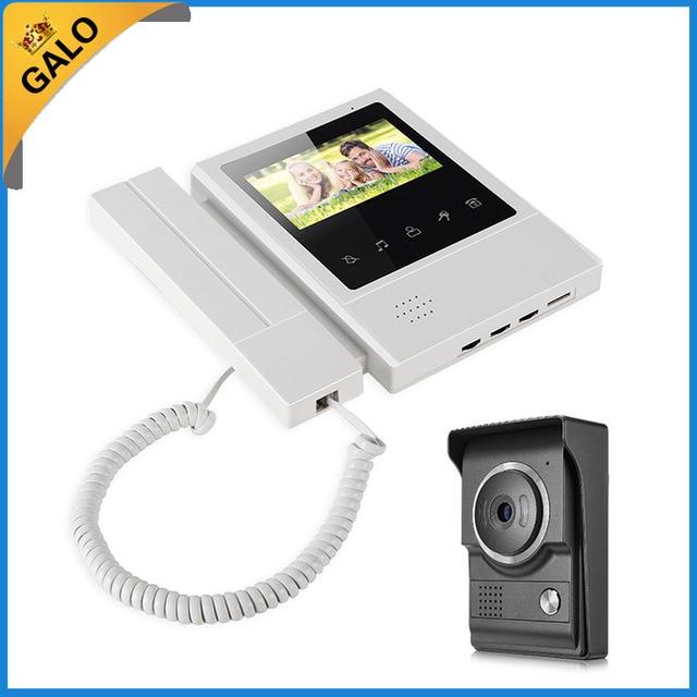 4.3 inch Wired video door phone color doorphone System Visual ...
