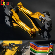 Off-road vehicle brake lever Pivot Brake Clutch Lever motorcycle clutch levers For KTM 450SMR 450 SMR 2007 2008