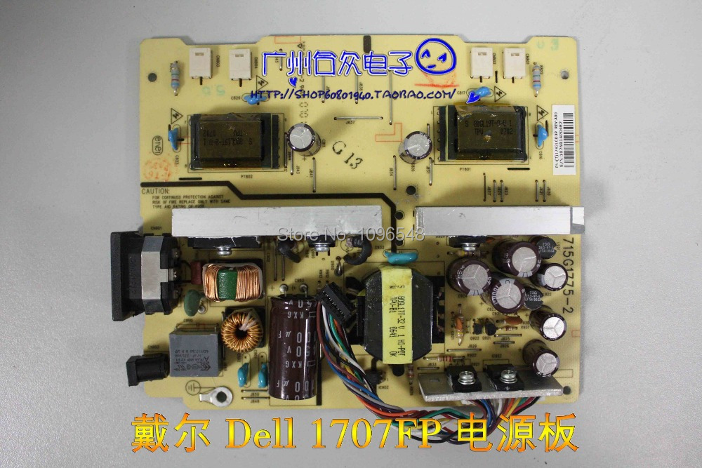 Free Shipping>Original 100% Tested Work 1707FP Power Board Inverter 715G1775-2 lifelike fish style fishing bait w treble hooks blue yellow