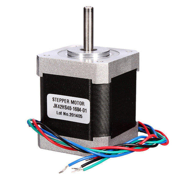 1pc New Nema17 1.8 Degree 42 Hybrid Stepper Motor Two Phase 40MM/48MM For 3D Printer CNC