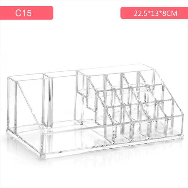 Acrylic Cosmetic Make Up Organiser Display Makeup Storage and Lipstick Liner Brush Holder  TY99