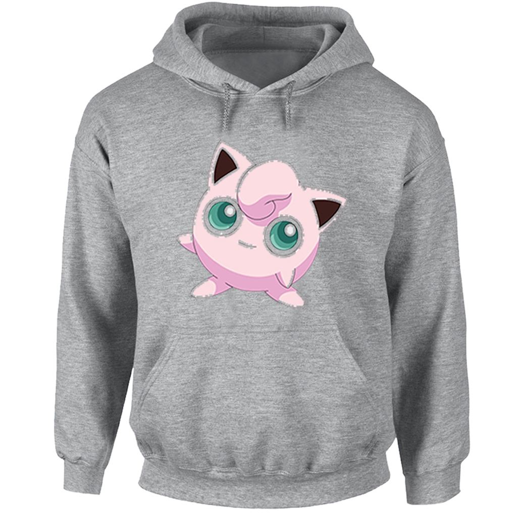 Cartoon Pokemon Jigglypuff Togepi Hoodies Women Girl Japanese Anime Sweatshirt Off White Fashion Jackets Casual Hoody Clothing