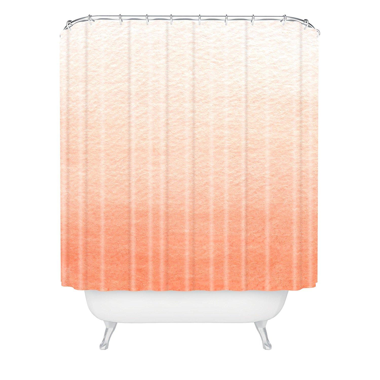 Social Shower Courtain.Us 26 76 Social Proper Peach Ombre Shower Curtain In Shower Curtains From Home Garden On Aliexpress 11 11 Double 11 Singles Day
