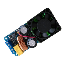Practical-IRS2092S 500W Mono Channel Digital Amplifier Class D HIFI Power Amp Board with FAN