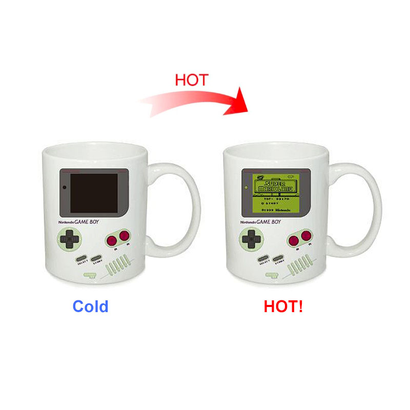 Creative Game Machine Magic Mug Temperature Color Changing Chameleon Cups Heat Sensitive Cup Coffee Tea Milk Mug For Gifts|Mugs| - AliExpress