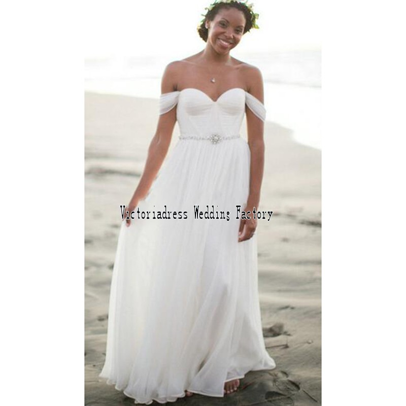 Casual wedding gowns promotion shop for promotional casual for Simple casual wedding dresses