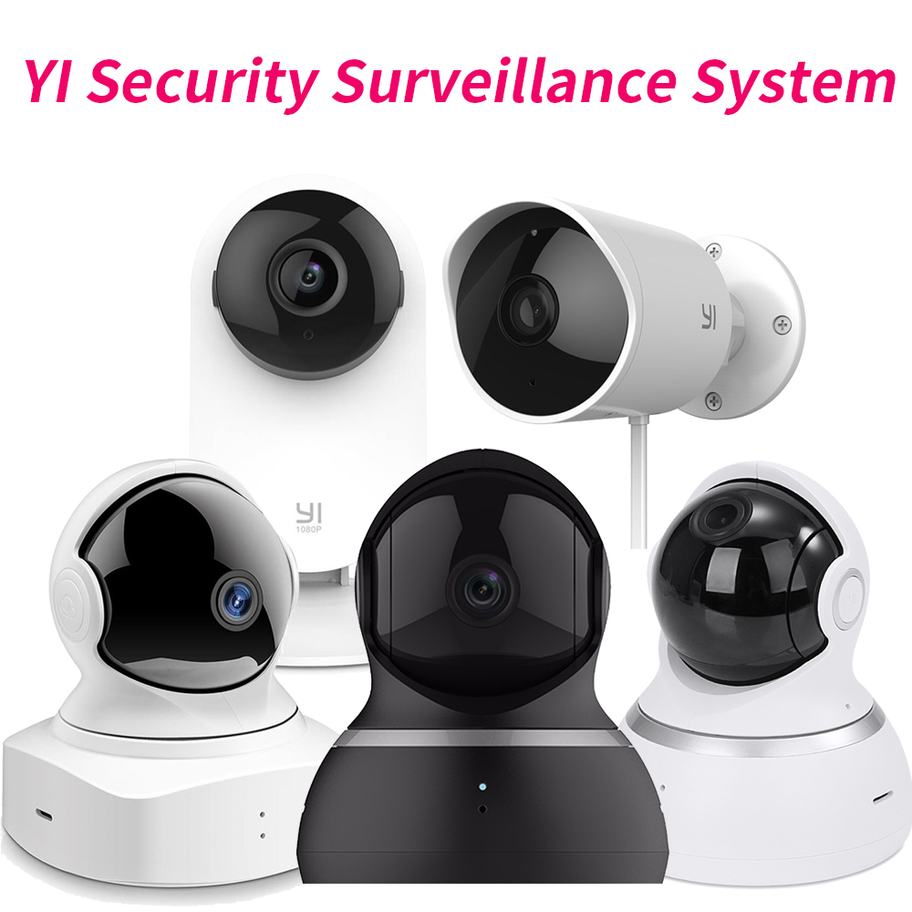 Xiaomi YI Security Surveillance System 1080P Outdoor Security Camera Cloud Camera Wireless IP Dome Camera Home Baby Monitor