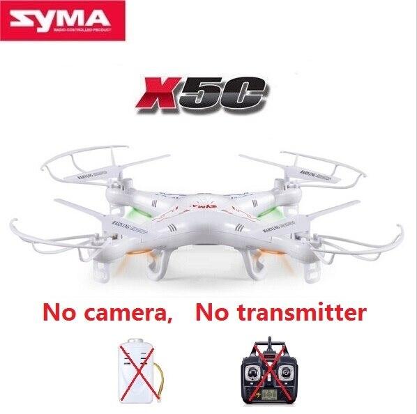 Solo syma x5c rc drone autónomo 2.4g 6-axis 4ch rc quadcopter sin cámara y contr