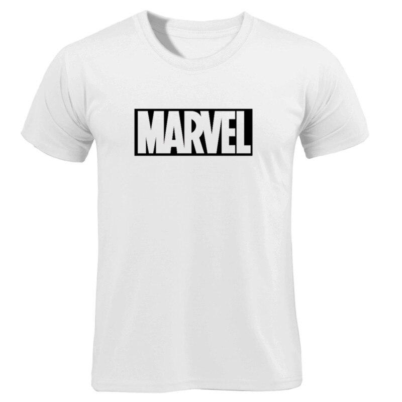MARVEL T-Shirt 2019 New Fashion Men Cotton Short Sleeves Casual Male Tshirt Marvel T Shirts Men Women Tops Tees Boyfriend Gift 39