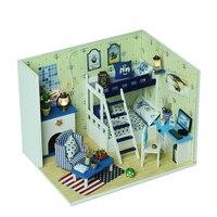 2017 New Brinquedos Tamiya Miniature For Creative Educational Model Toy Bricks Micro Landscape Xingmeng Diy Craft Hut Series