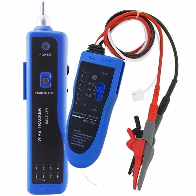 Continuity Test Wire Tone Tracker Cable RJ45 RJ11 Telephone Wire ...