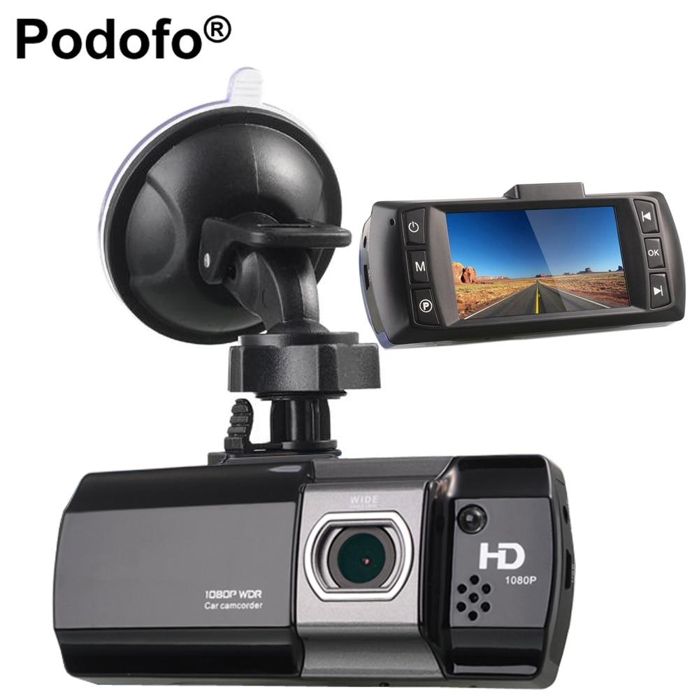 Podofo Voiture DVR Caméra Novatek 96650 AT550 Enregistreur Vidéo FHD 1080 P Dash Cam G-sensor Dash Caméra WDR/Nuit Vision Registrator