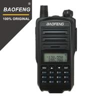מכשיר הקשר 100% מקורי Baofeng UV-7R מכשיר הקשר Dual Band UHF / VHF נייד כף יד המשטרה מקלט רדיו שני הדרך HF Ham Transciver (1)