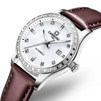 Switzerland Carnival Women Watches Luxury Brand ladies Automatic Mechanical Watch Women Waterproof relogio feminino 8685L 18