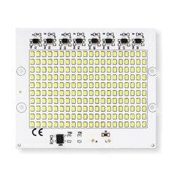 Умная IC SMD чипы светодиодные лампы 10 Вт 20 Вт 30 Вт 50 Вт 100 Вт AC 220 В SMD2835 DIY для наружного прожектора для сада холодный белый теплый белый