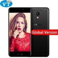 Original Meizu M6 3GB RAM 32GB ROM 4G LTEMEILAN M6 Mobile Phone 5.2 inch Screen 3070mAh battery MTK6750 Octa core