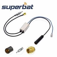Superbat FM AM To FM AM DAB Car Radio Aerial Converter Splitter With SMA Male Plug