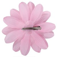 BOFF Rhinestone Lily Flower Hair Clip for Lady Girls - Light Pink