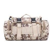 USA shipping Outdoor sports fitness running bag multi function camouflage magic pockets gym bags sport Messenger bag handbag