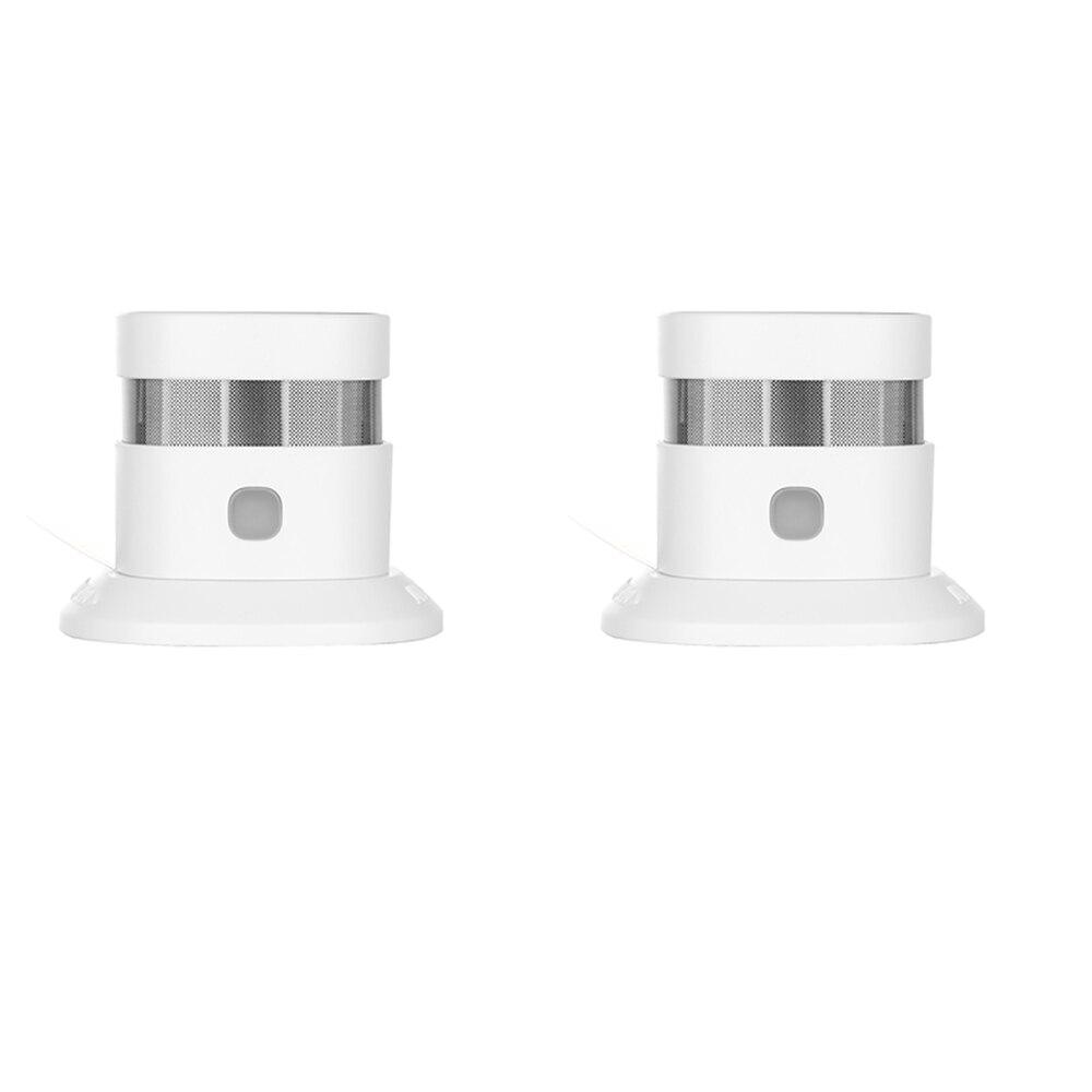 Beautiful Z-wave Plus Smoke Sensor Smart Home Eu Version 868.42mhz Z Wave Smoke Detector Power Battery Operated 2pcs/lot Online Shop