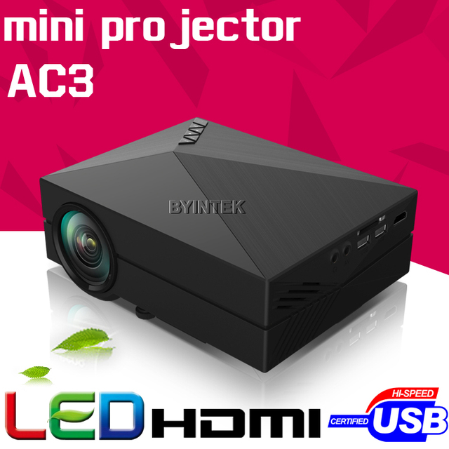 New Model gM60 Home Theater HD 1080P portable Video LCD VGA HDMI Cinema USB AC3 Theater 3D mini LED Projector Proyector Beamer