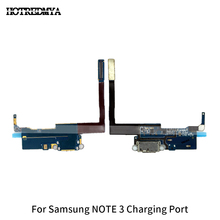 цена на Note3 Charging Charger Dock Port Flex Cable For Samsung Galaxy NOTE 3 N9005 USB Microphone Connector Replacement Spare Parts