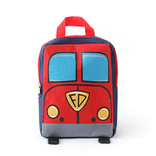 Under Nineteen 2019 Carton Red Fire Truck Kids Backpacks Mini schoolbag Backpack Children School Bags Girls Boys Backpack fire down under