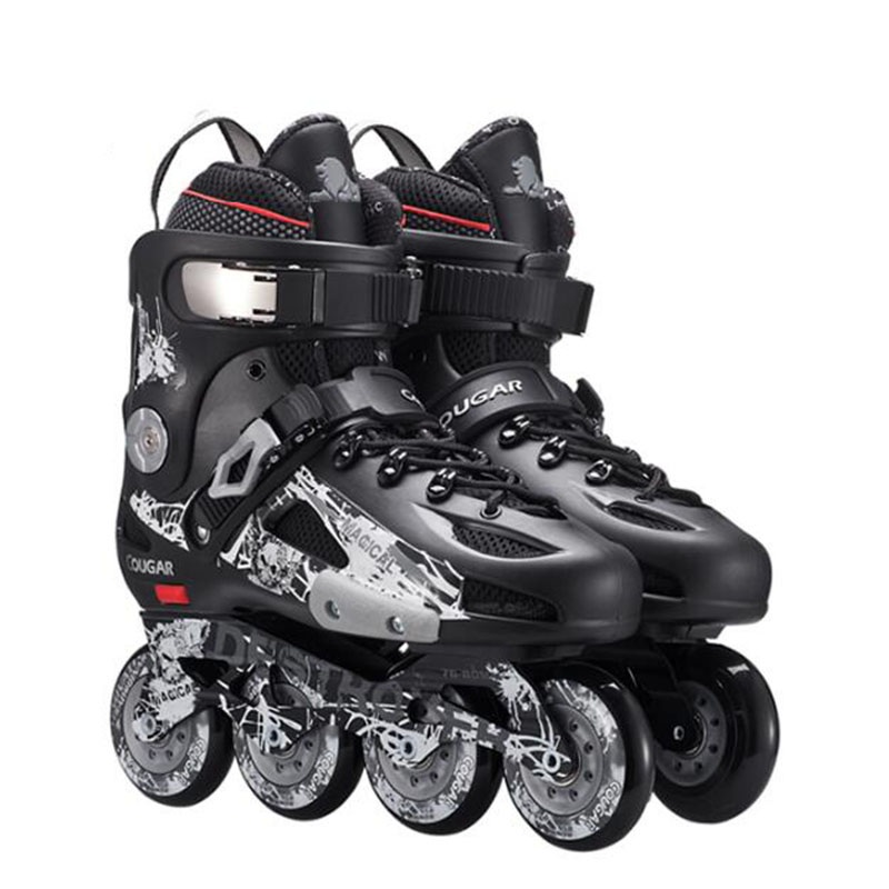 Professional Slalom Inline Skates Roller Skating Shoes Slalom Sliding Free Skate Shoes Patines Adult High Quality Free Ship IA18 the development of 51 single chip learning board 4 4 4 color led lightdiy electronic parts cotted production suite