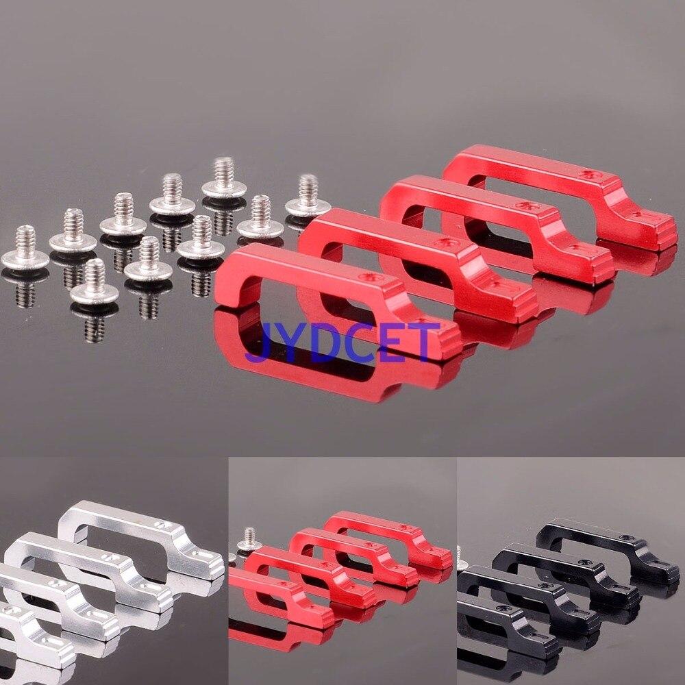 Manija de puerta de aluminio TRX4DH para 1/10 Crawler TRAXXA TRX4 Defender D110 cuerpo