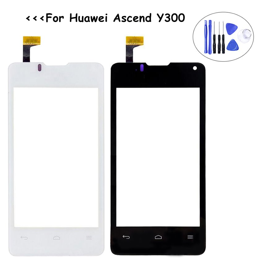 100% Tested High Quality Replacement Touch Panel Display For Huawei Ascend Y300 U8833 T8833 Touch Screen Glass LCD Digitizer