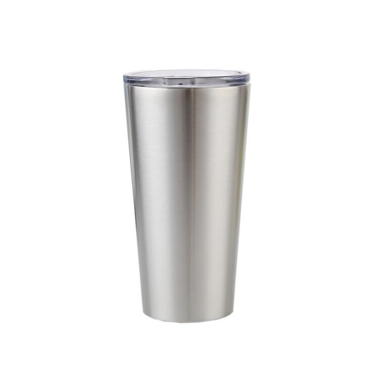 Ev ve Bahçe'ten Kupalar'de 10 adet 16 oz bardak vakum yalıtımlı kupalar Paslanmaz Çelik Kahve Fincanı çift katlı termos Seyahat Şişesi Kupa şeffaf kapaklı'da  Grup 1