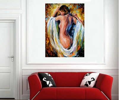 Büyük Resim el-boyalı Soyut Çıplak kadın Yağlıboya Tablolar Tuval üzerine El Yapımı Seksi Kadın Boyama Modern Duvar Sanatı Ev dekor