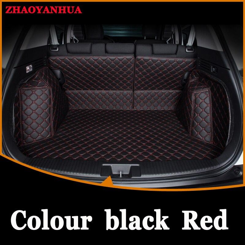 Personnalisé tapis voiture du tronc propres Tous Les Modèles pour Grande muraille Haval H1 H2 H3 H5 H6 H9 Cool ours style tronc tapis