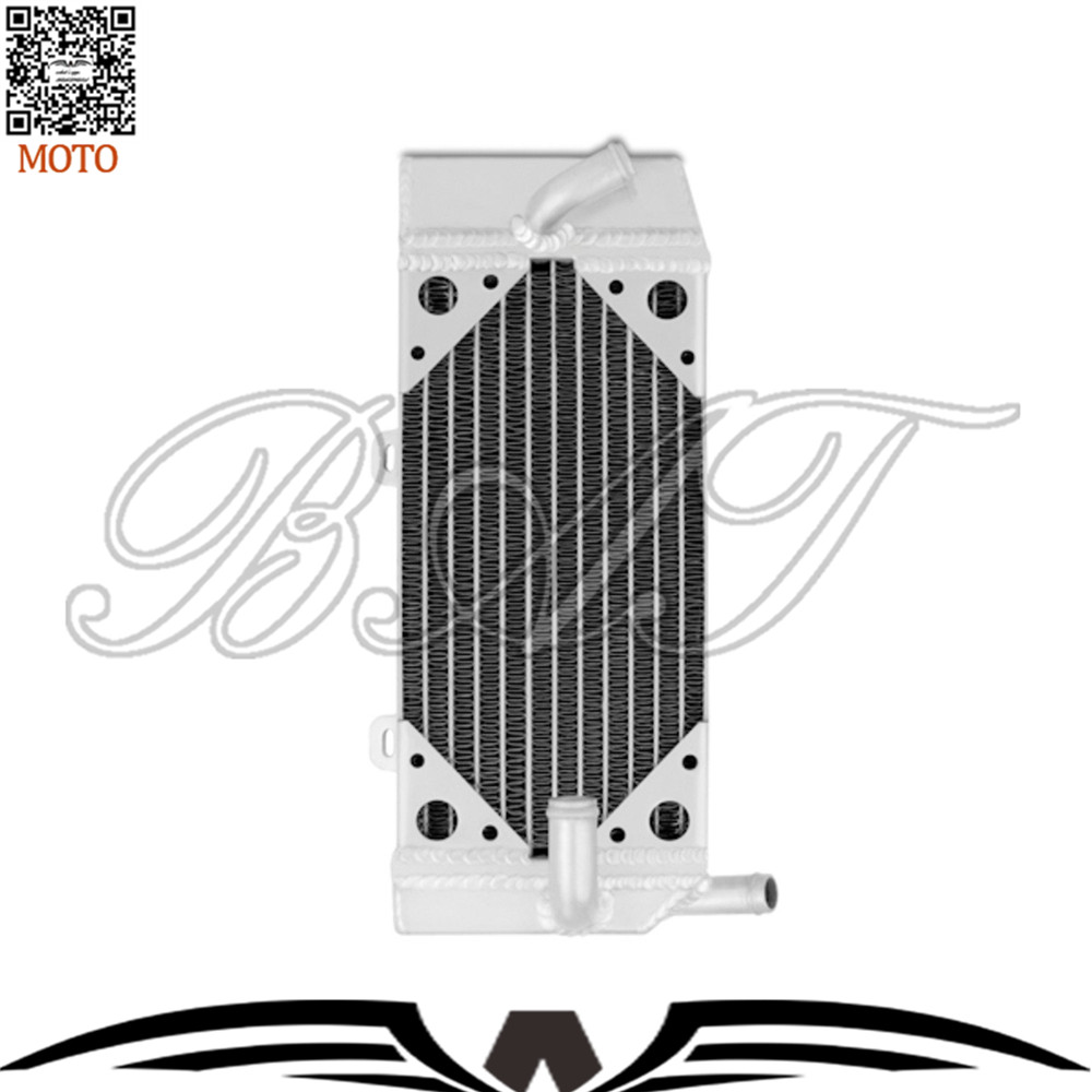 Motorbike Accessories Radiator for Honda CRF450R Motorcycle Parts Aluminium Cooling Cooler Radiator