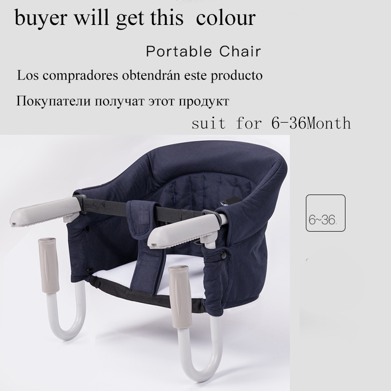 Купить с кэшбэком Baby Portable Seat Kids Chair Children'S Travel Dining Chair Baby Eating Feeding Baby Chair Multifunctional Infant Seat Outdoor
