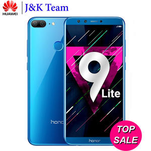 "Global Rom Huawei Honor 9 Lite 5.65 ""View Screen 2160 * 1080Pix Android 8.0 Smartphone"