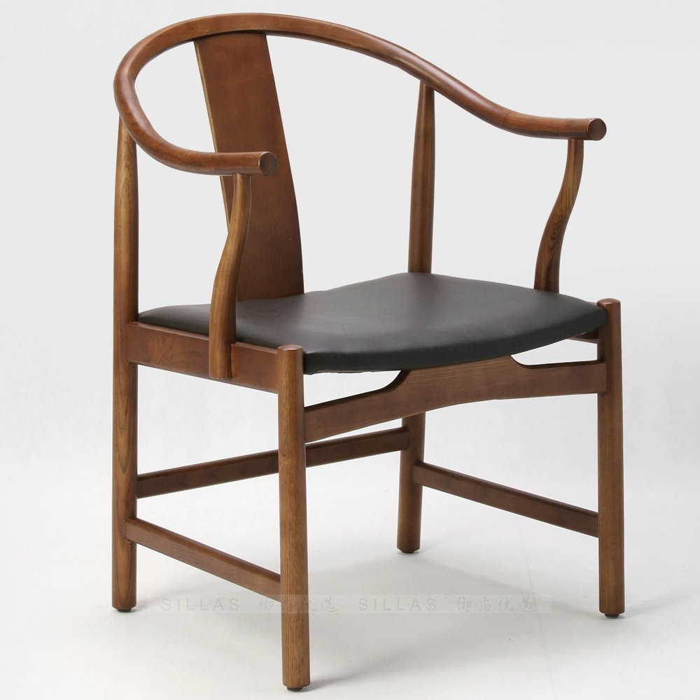 Danish Designer Armchair Scandinavian Armchair New Chinese Wooden