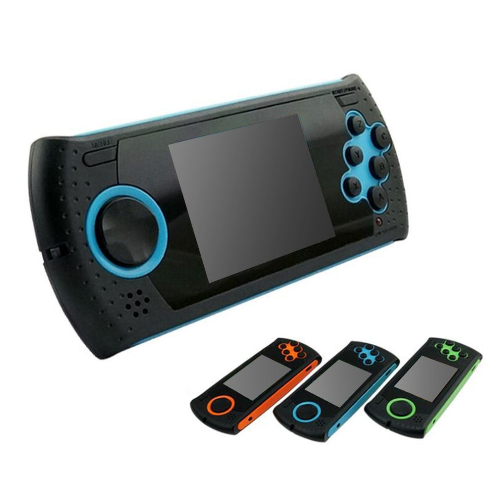 2.8 Inch LCD Display Portable Handheld Game Player Built-in 100 Games Compact Game Console Gamepad Support AV Cable
