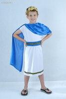 נערי ילדים חמודים ליל כל הקדושים רומא העתיקה warrior מגניב cosplay תלבושות מלא סט לביצועי במה או מסיבת תחפושות