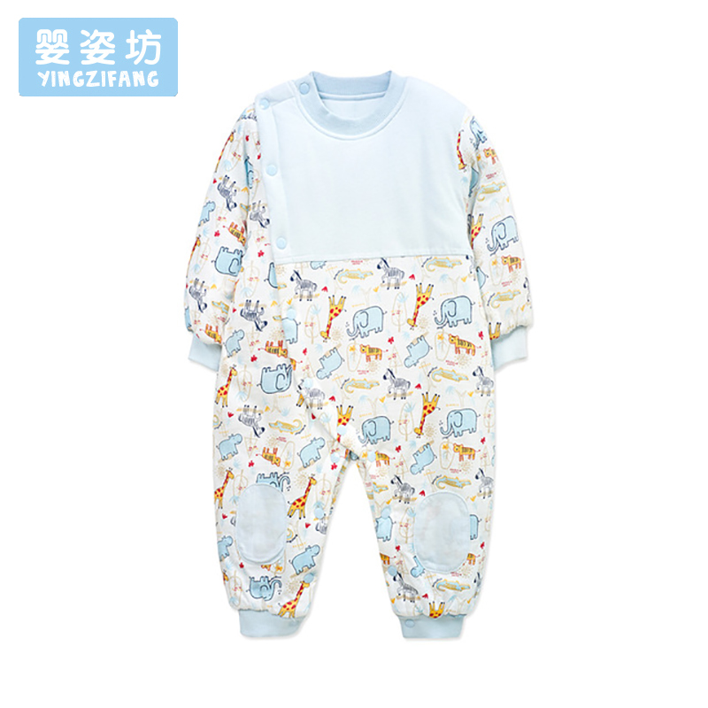 2018 Baby Romper For Bebek Clothes Autumn Winter Newborn Girl Boy Cotton Long Sleeve Printed Romper Jumpsuit Infant Costume newborn baby romper winter clothes hooded cotton outdoor roupas para recem nascido long sleeve baby boy winter thick 607022