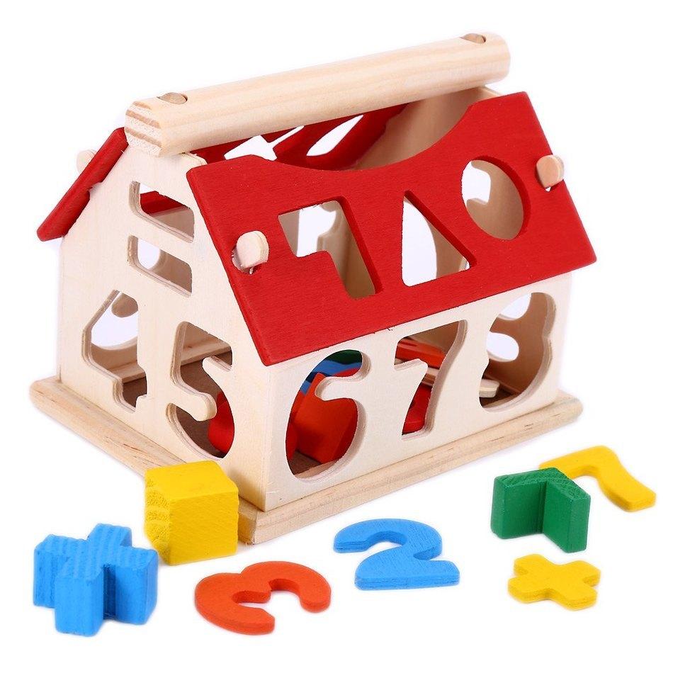 beb nios de construccin de casas de madera bloques de construccin de aprendizaje educativo juguete de desarrollo kit juego d