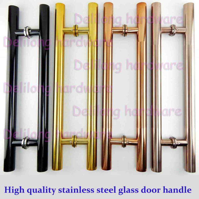 Online Shop High quality glass door long handles 1200mm, gold color ...