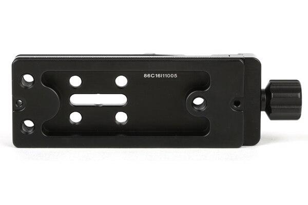 SUNWAYFOTO DMP-100 головка штатива быстросъемная пластина для DSLR камеры штатив пластина Узловая горка с винтовой ручкой штатив пластина