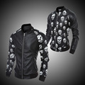 Brand Leather Jacket Men male casual motorcycle leather jacket Mens fashion veste cuir genuine jackets design stand collar COAT