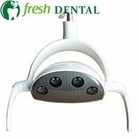 2018 New Style Dental LED Oral Light Induction Lamp Dental Unit medical operation light 4 LEDs with sensor High quality SL1021