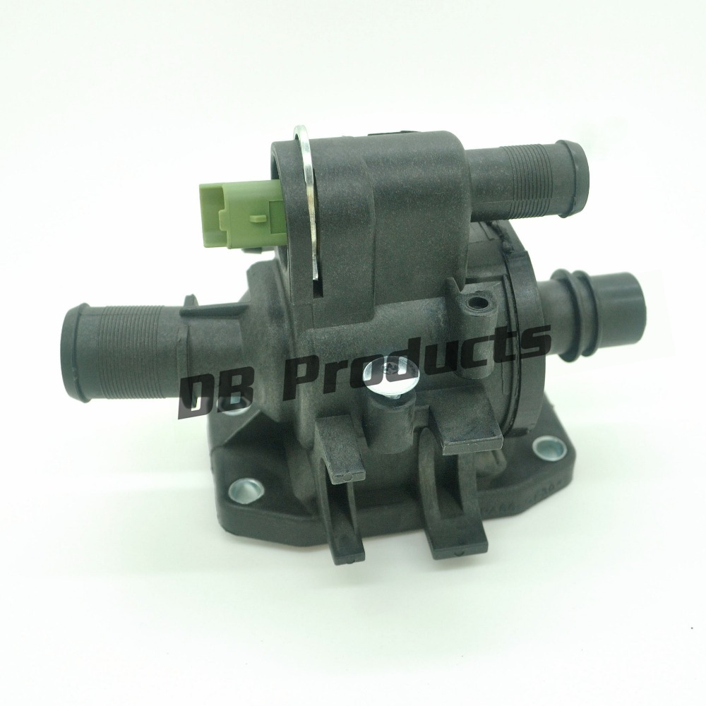 Coolant thermostat housing with sensor for ford fiesta peugeot 107 207 207 307 suzuki liana
